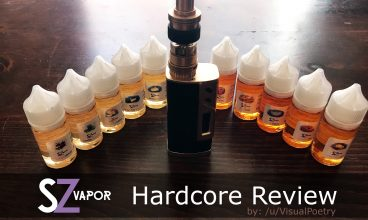 Hardcore Review Time: A month with 10 bottles of SZ Vapor